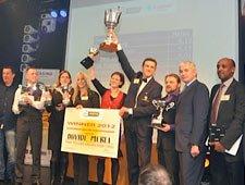 Davide Mercli Croupier Campione Europe 2012